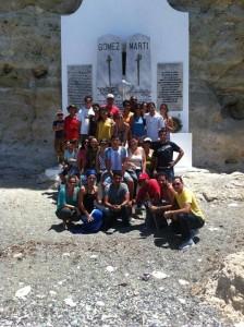 La Guerrilla de Blogueros en el Monumento Nacional Playitas de Cajobabo
