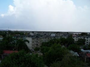 Vista del poblado Caimanera